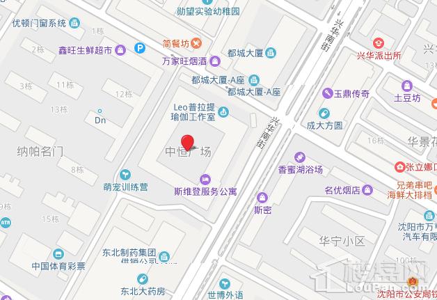 中恒广场位置图