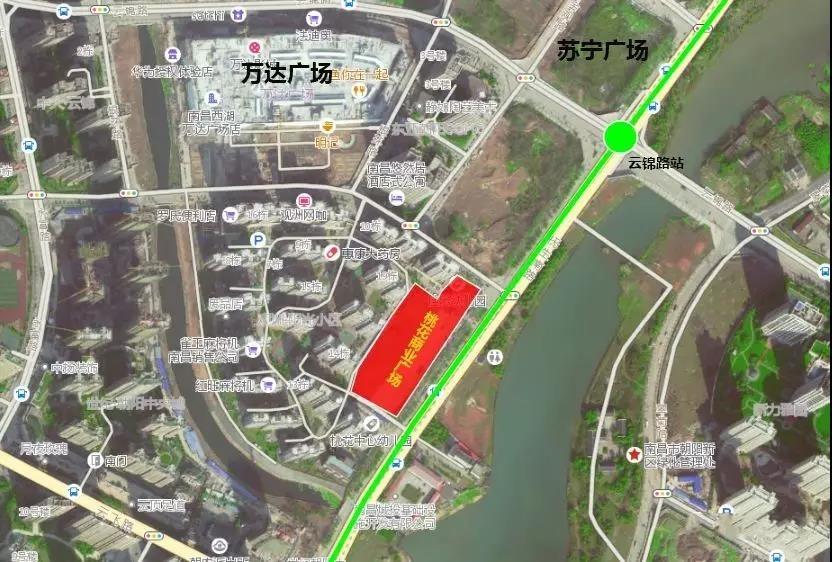 桃花商业广场位置图
