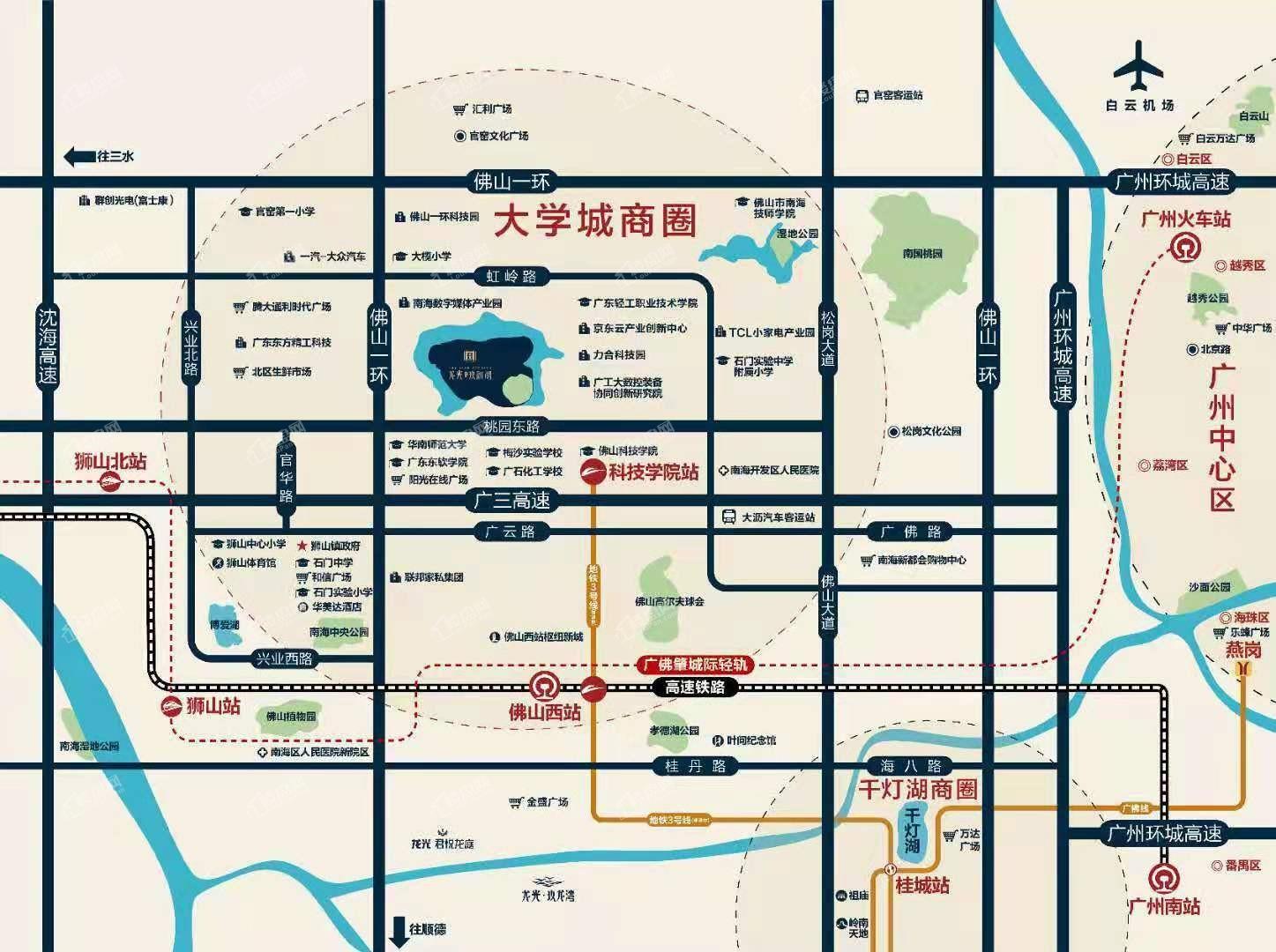 龙光玖御湖位置图