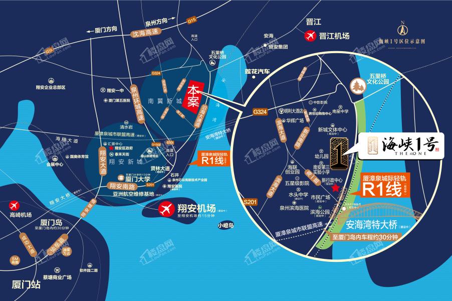 海峡1号位置图