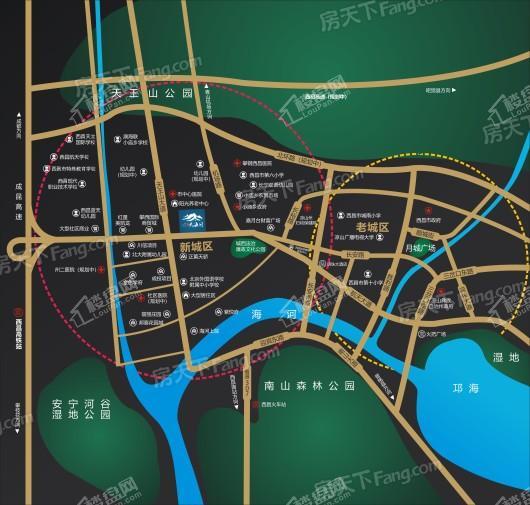 九洲·云海间交通图