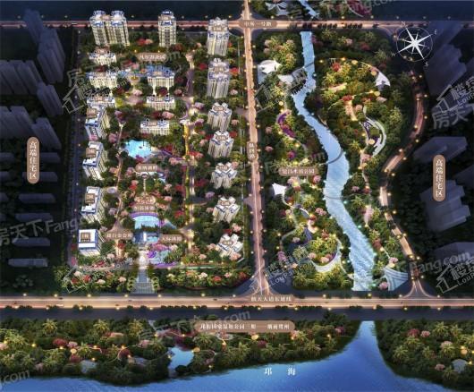 邛海湾·长岛(公寓)效果图