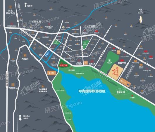 领地·悦邛海交通图