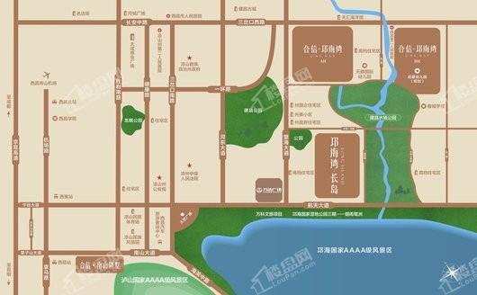 邛海湾·长岛(公寓)交通图