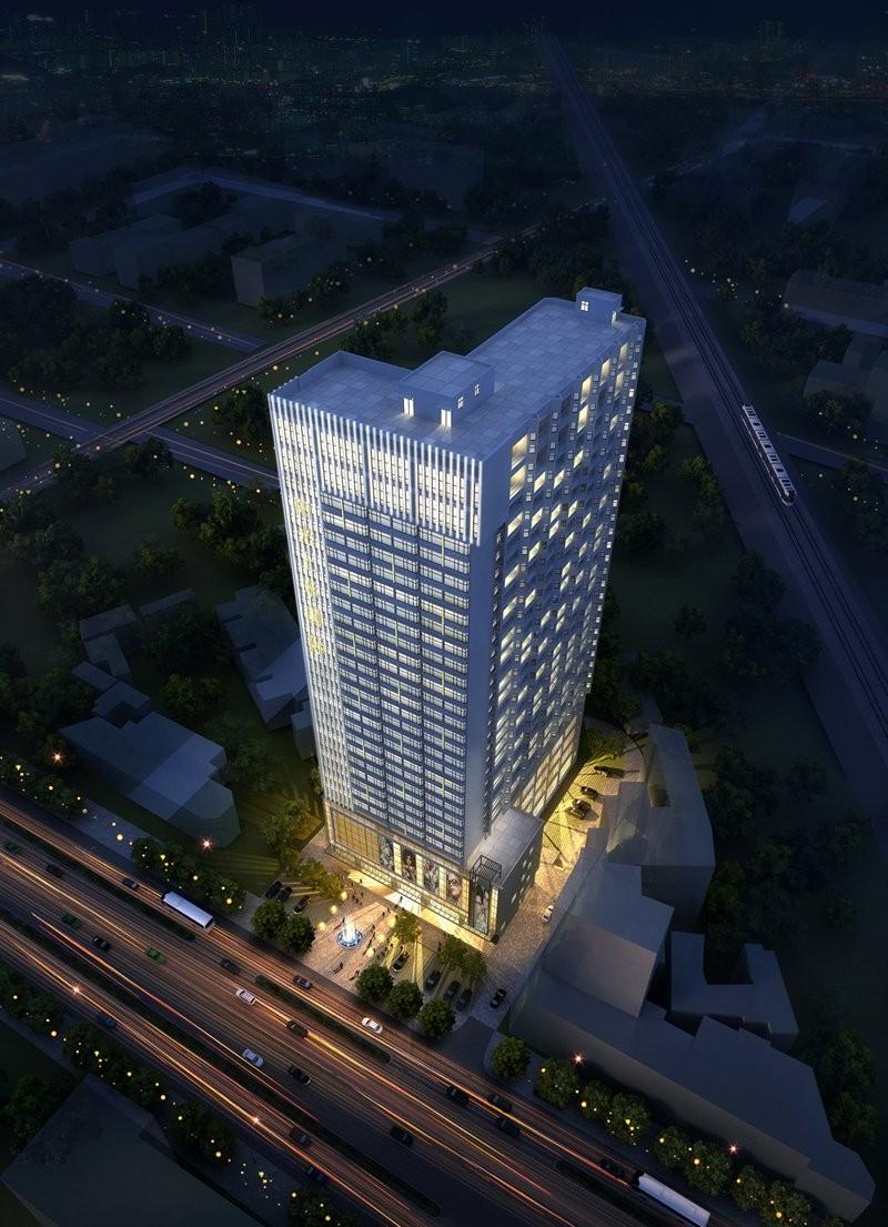 阳光上东国际公寓效果图