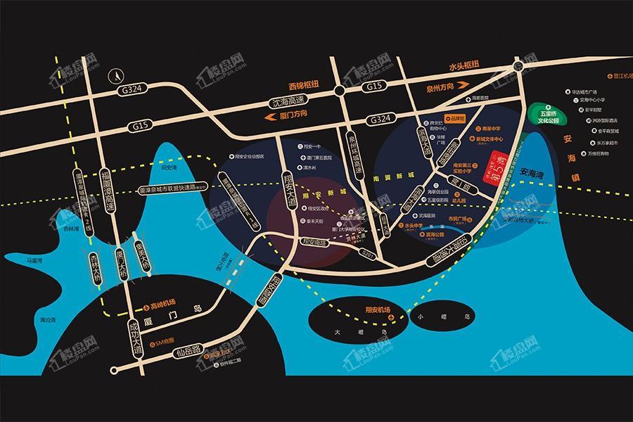 保利住宅第5湾位置图