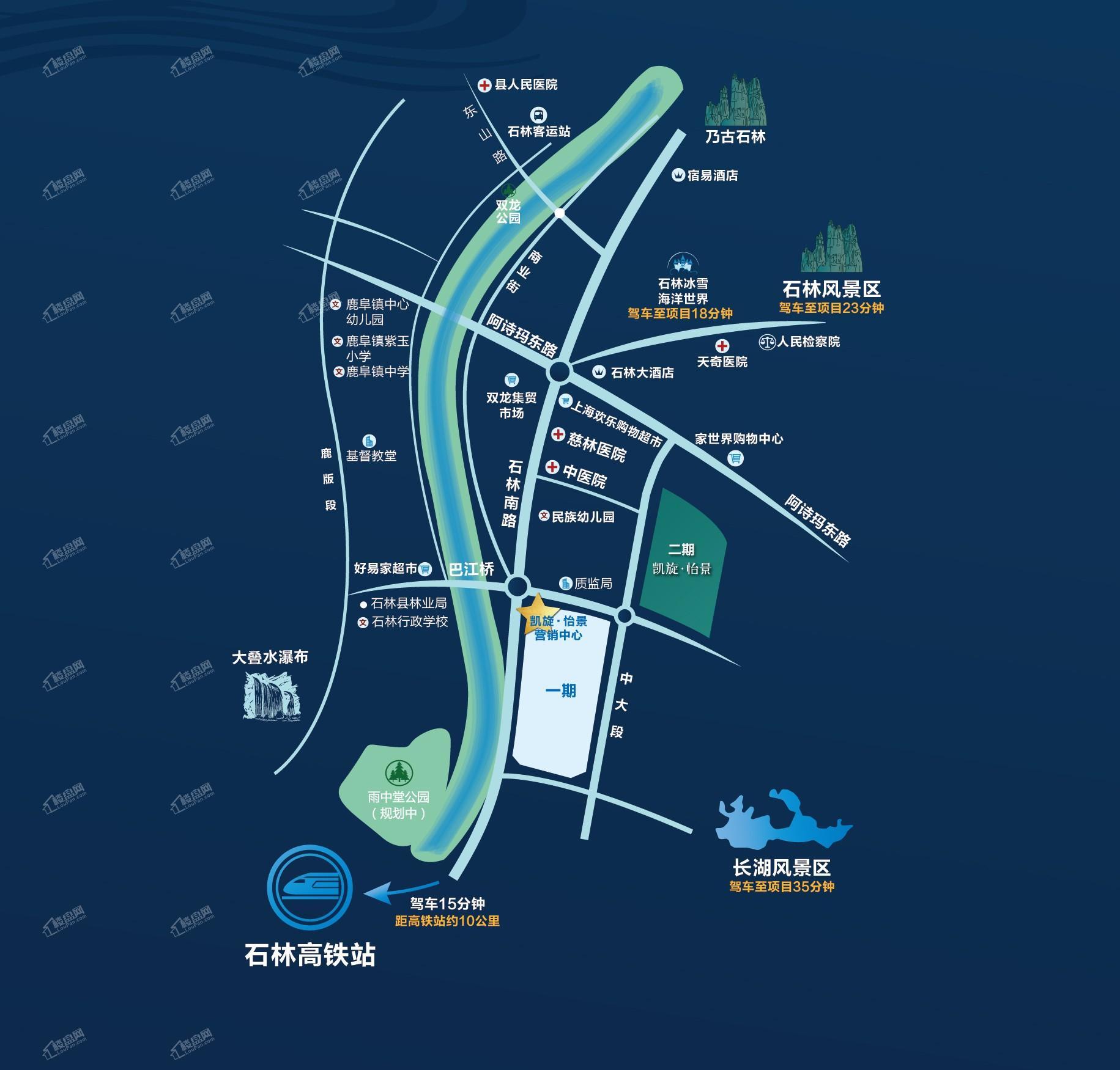 凯旋怡景位置图