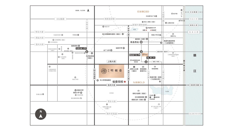 新旅明樾台位置图