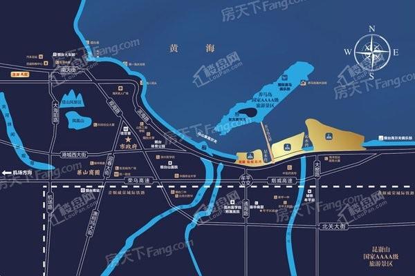 龙湖滟澜海岸位置图