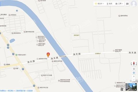 滨河官邸交通图