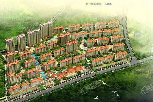 桦林颐和苑商业圈效果图