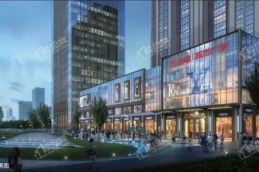 中海城市广场商铺效果图