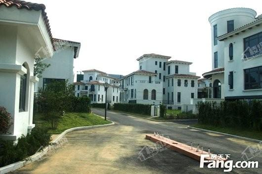 天越湾别墅实景图