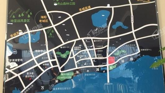 光映·明月湾交通图