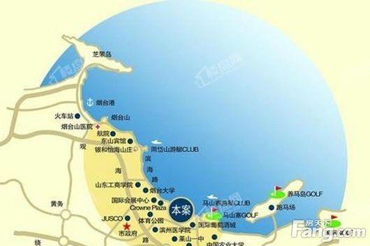 天越湾公寓交通图