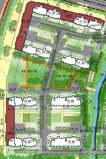 峰山水库周边地块起步区项目效果图