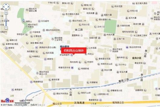 佰和凤台山地块交通图
