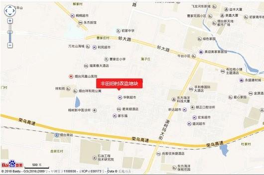 丰田旧村改造地块交通图