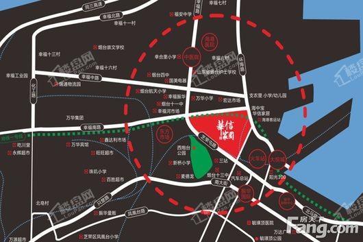 华信邻里街交通图