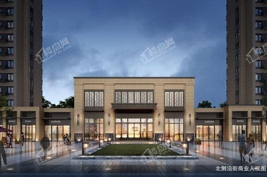 蓝光雍锦锦湖商铺效果图