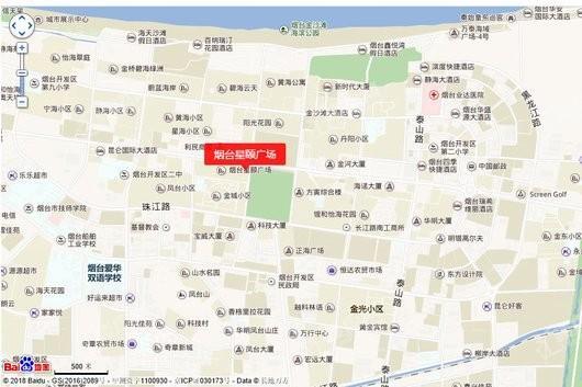 星颐广场写字楼交通图