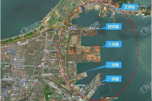 烟台海上世界交通图
