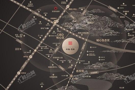 中海莞府交通图