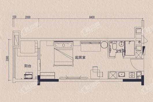 碧桂园金叶子户型图