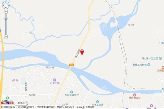金众江悦府交通图
