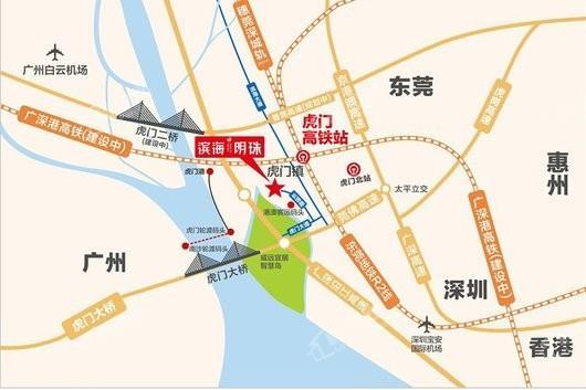 滨海明珠交通图
