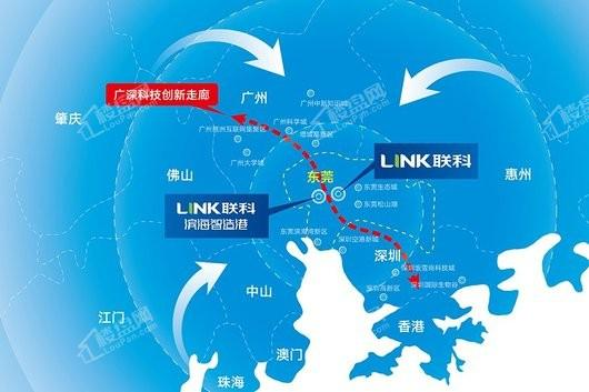 联科国际信息产业园交通图