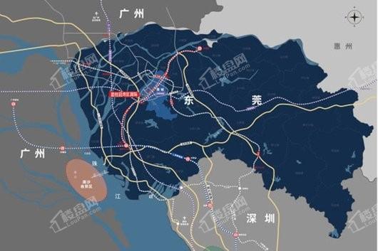 碧桂园湾区国际交通图