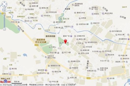 四季悦山交通图