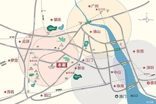 悦天下生态度假区交通图