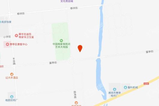 杨家埠文化创意梦想小镇交通图
