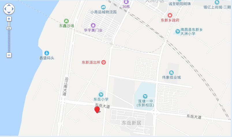 绿地悦滨江位置图