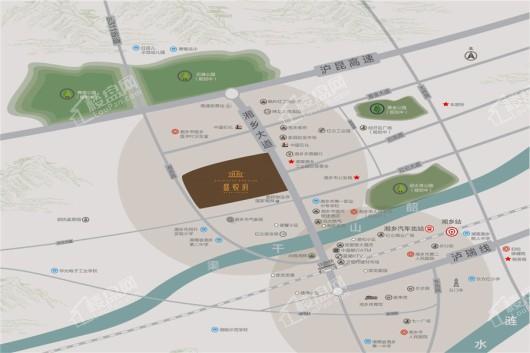 龍城|盛悅府交通圖