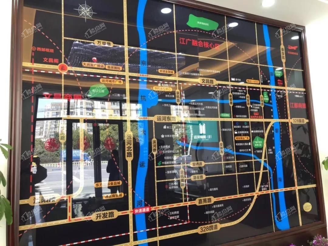 运河领寓LOFT位置图