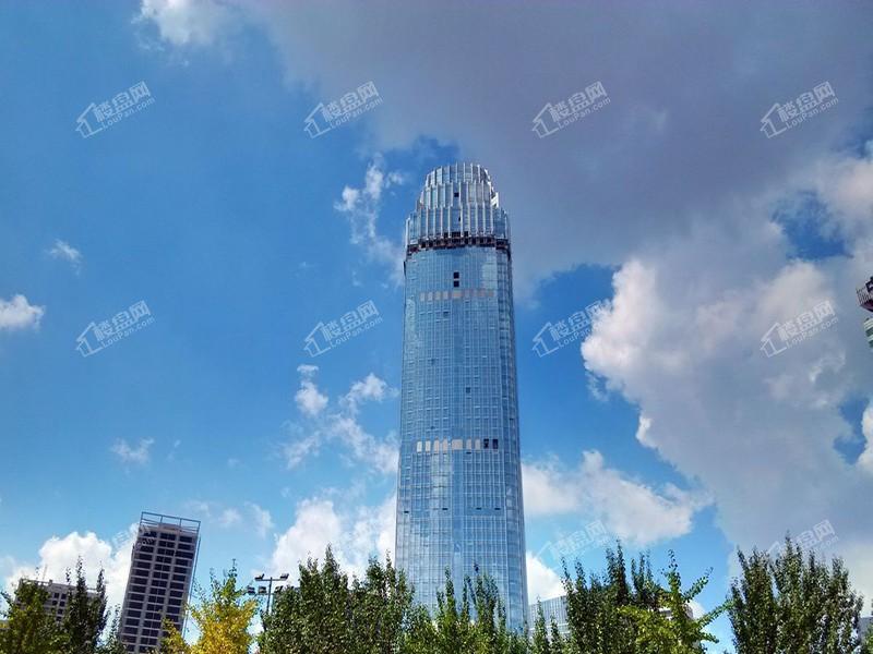 沈阳新地中心实景图