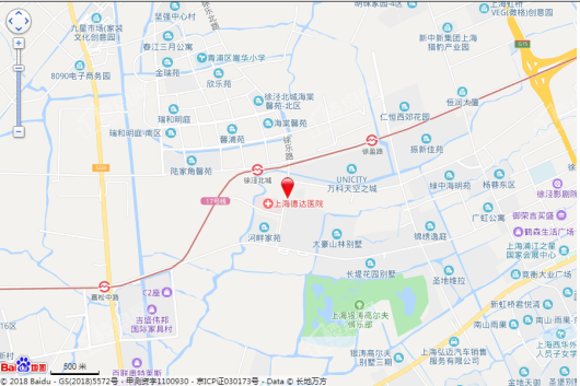 虹泾东八区交通图