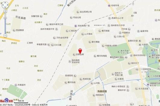 金叶商业广场交通图