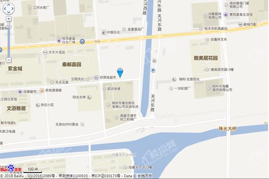 合景领峰交通图