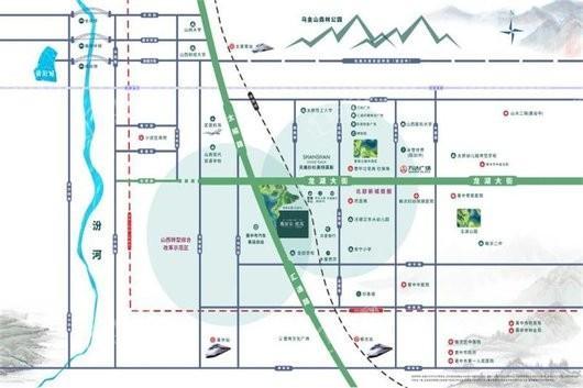 雅居乐·熙苑交通图