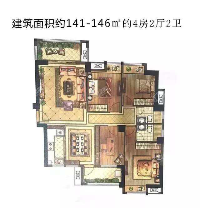 百宏双龙首府户型图