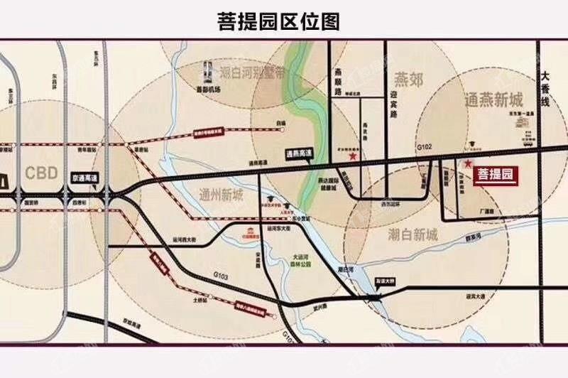 菩提园位置图