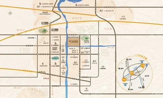 中洲碧桂园·花溪源著交通图