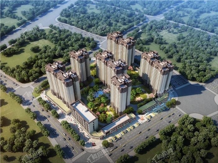 中国铁建凤岭国际城效果图