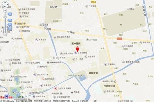 玖龙天街交通图