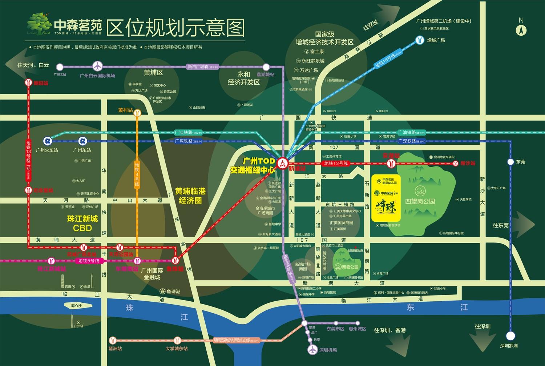 中森茗苑位置图