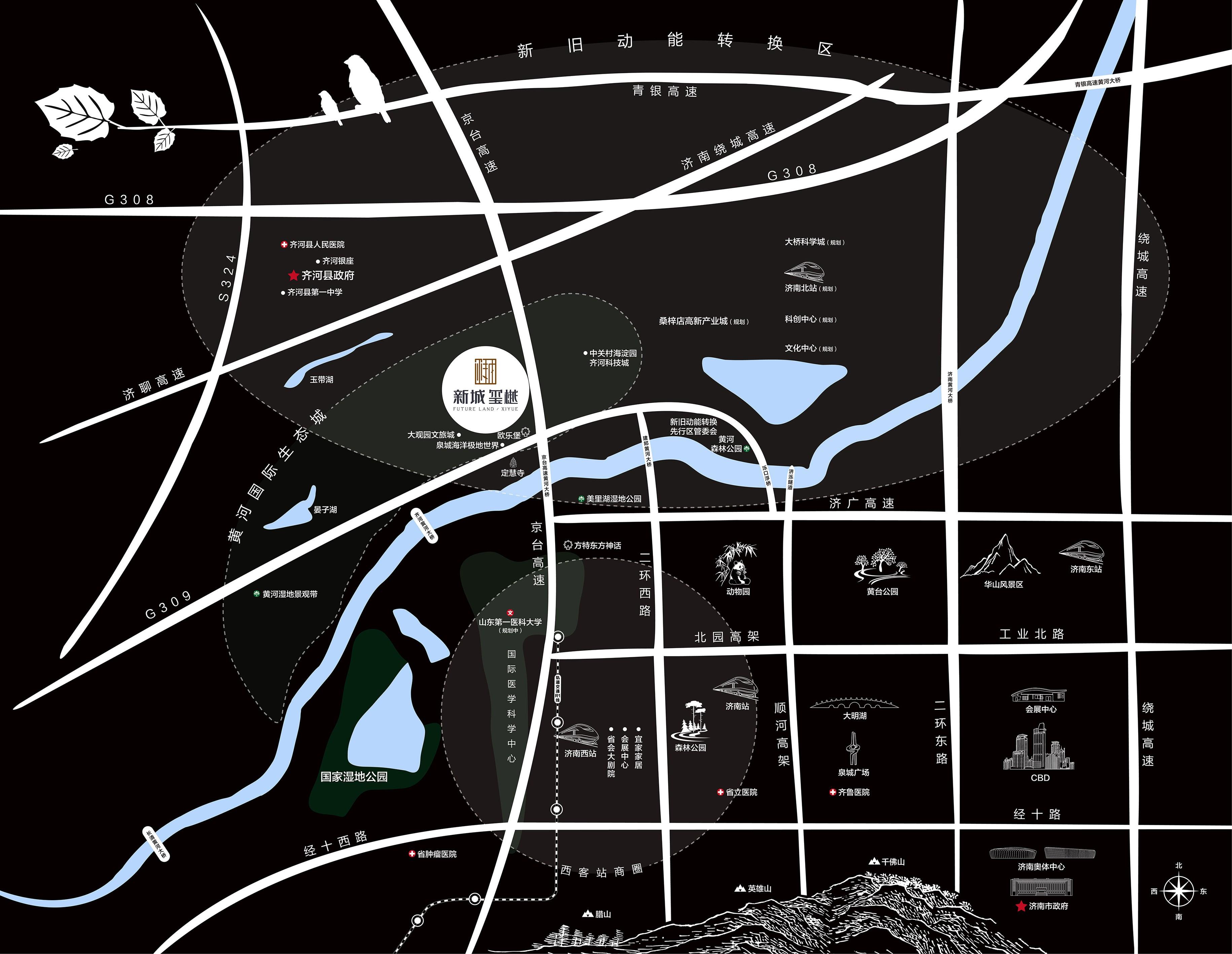 新城玺樾位置图